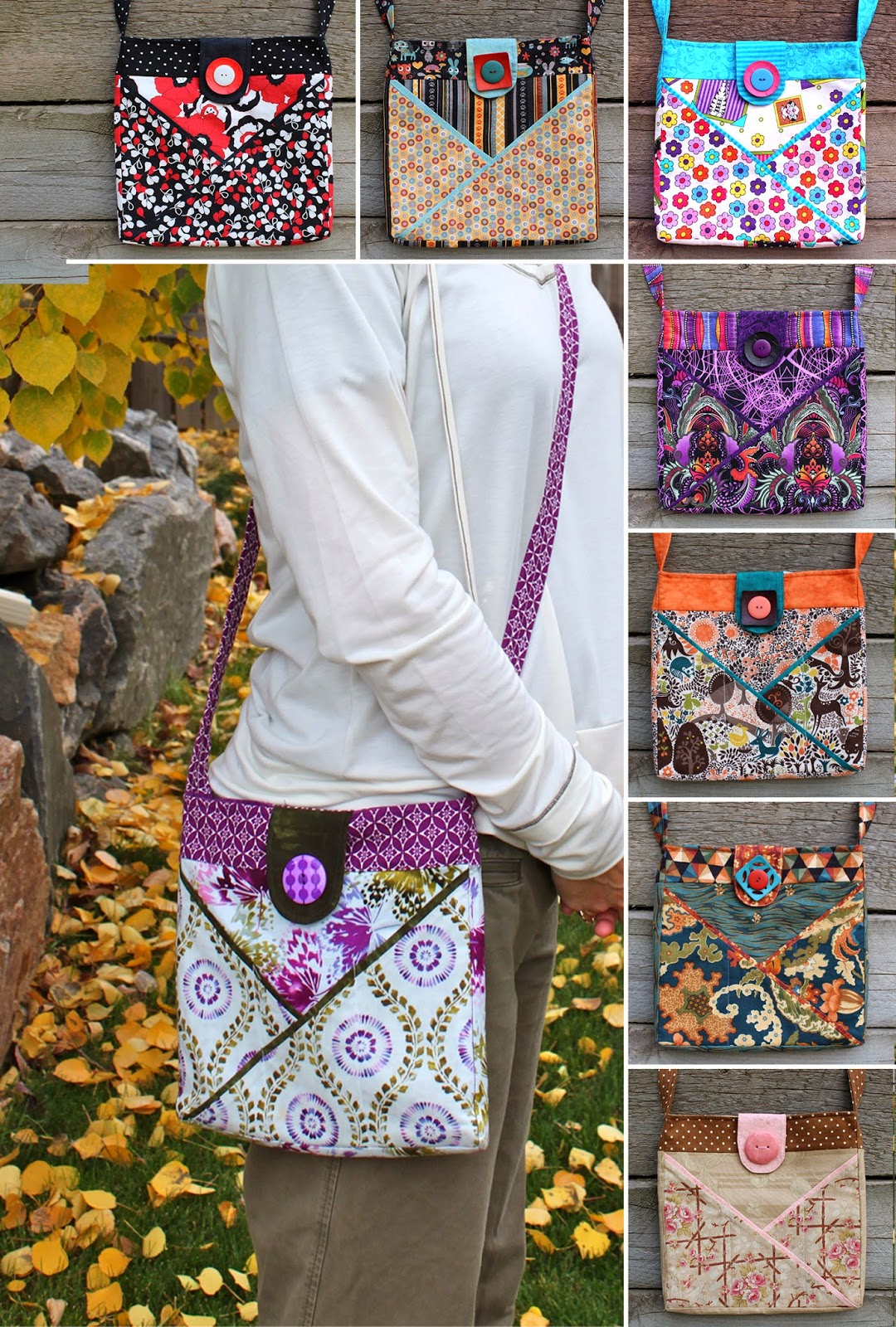 Cross Pocket Bag Tuturial