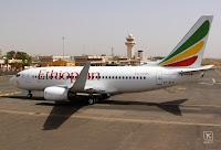Ethiopian 737 in OUA