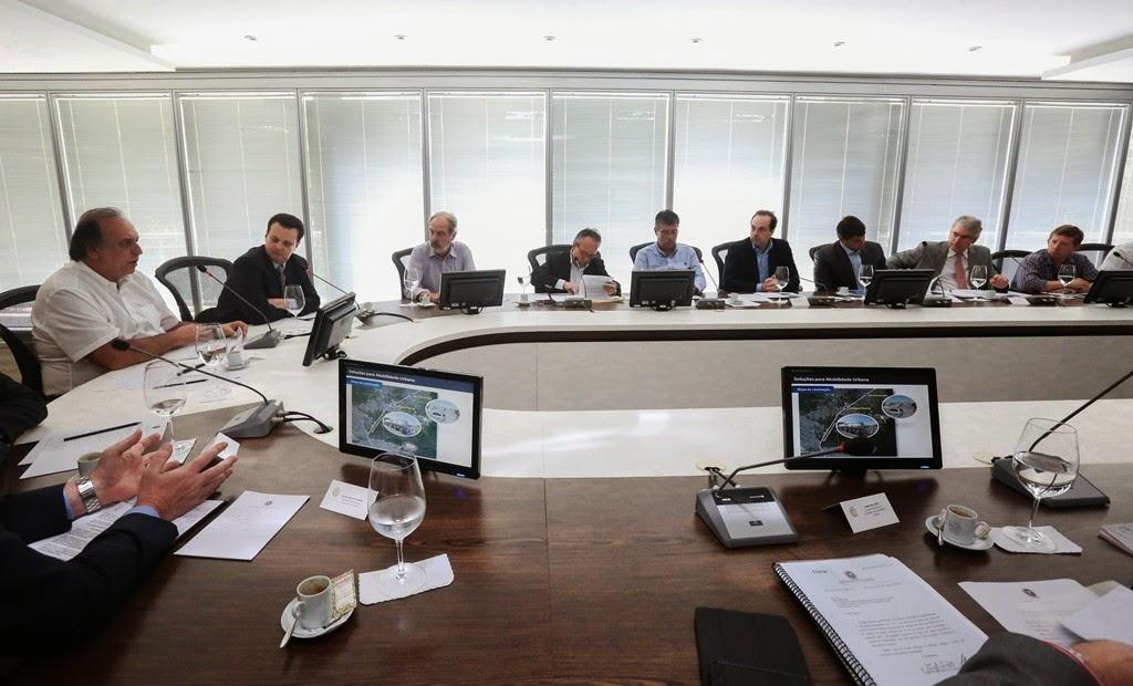 Governo do Estado do Rio e Ministério das Cidades anunciam criação de grupo de trabalho para agilizar a execução de obras
