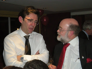 With Andy Burnham MP Shadow Health Secretary