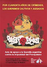 MADRID (Auditorio Marcelino Camacho) - 6 de Octubre