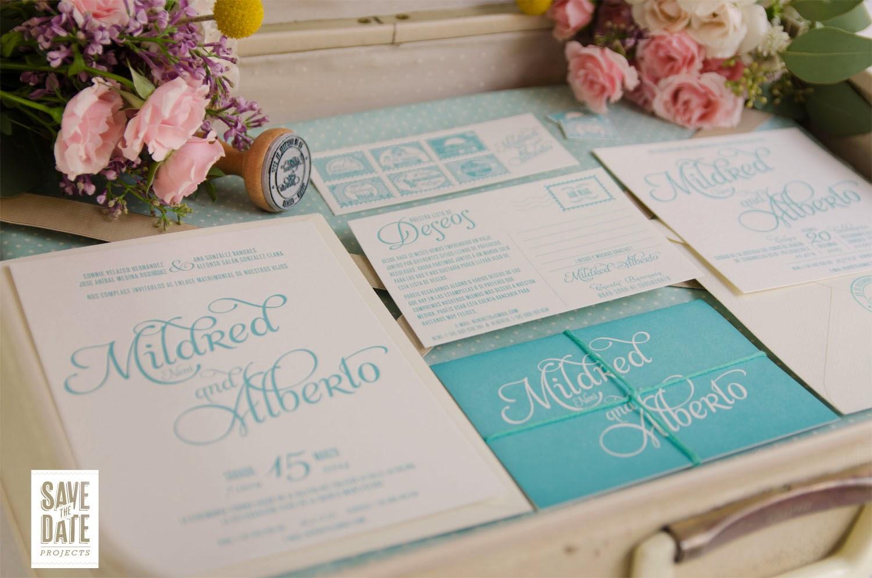 Invitaciones de boda únicos
