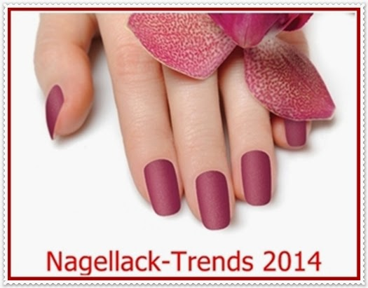 Herbst Winter Nagellack-Trends 2014