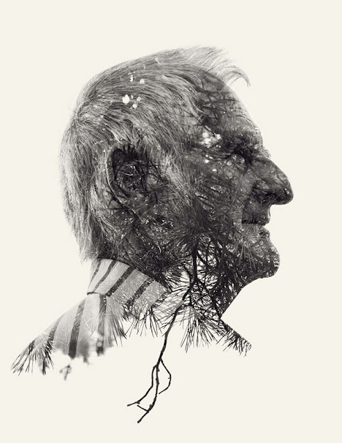 Christoffer Relander,retratos,exposicion,multiple,exposure,Portraits,We Are Nature,blanco,negro,black,white,second,man