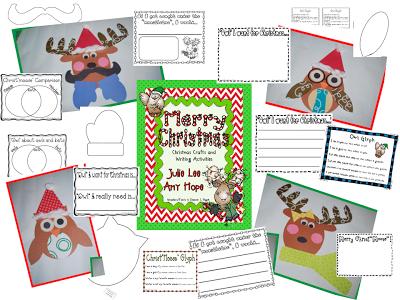 Mrs lee s kindergarten christmas crafts amp writing activities and