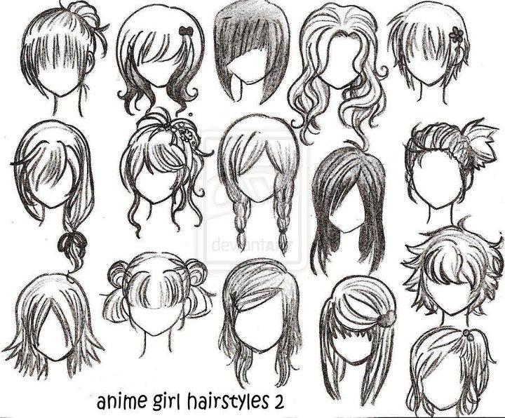 welcome !: Sketsa Cara Menggambar Rambut