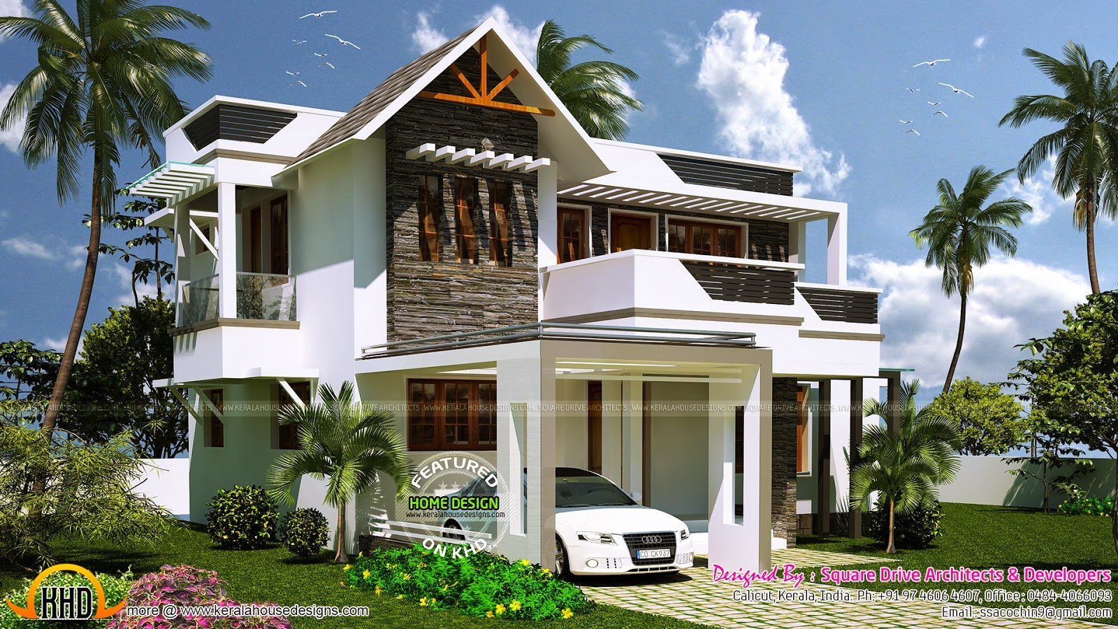 Modern Design Villa Kerala Home Design And Floor Plans