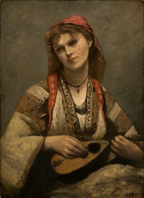Gitane à la mandoline, 1874