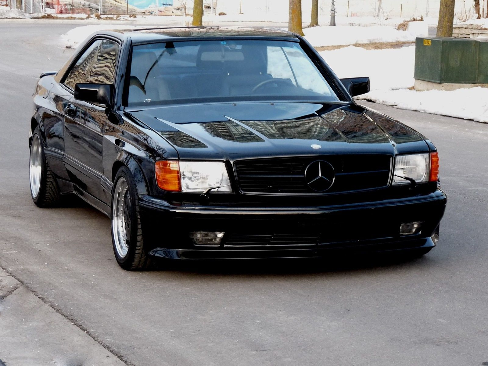 1990 mercedes benz 560sec amg 6 0 widebody is badass but