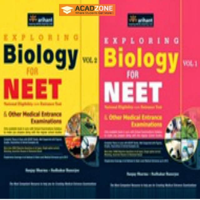 Biology for NEET Vol-1 and 2 Set of 2 Books