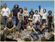 In the popular television series Lost, survivors of a plane crash find .