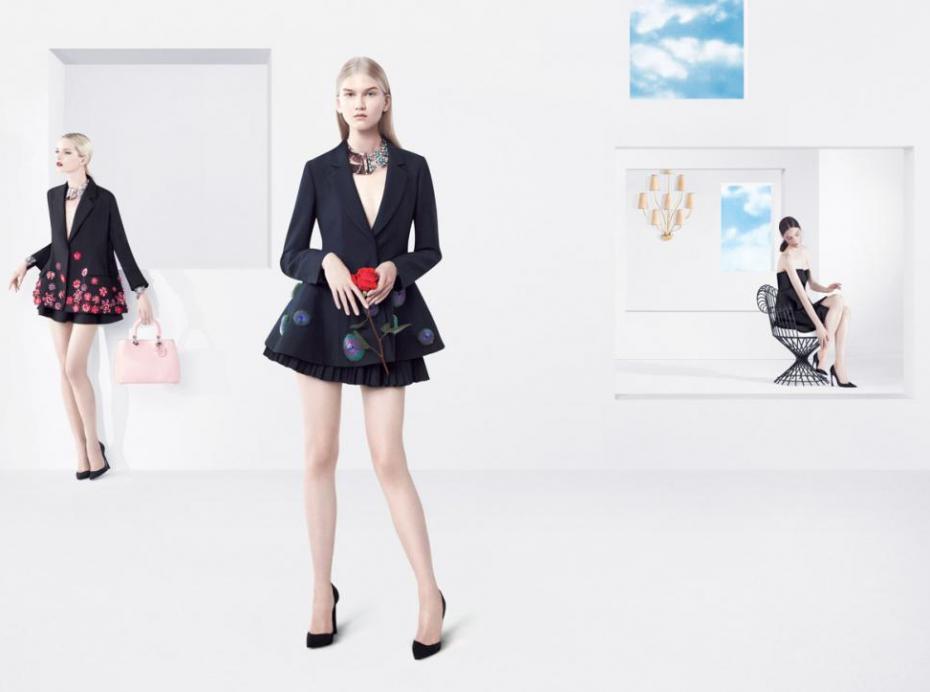 La campagne Printemps/Eté Dior