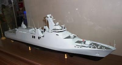 Model Kapal Perusak Kawal Rudal 10514