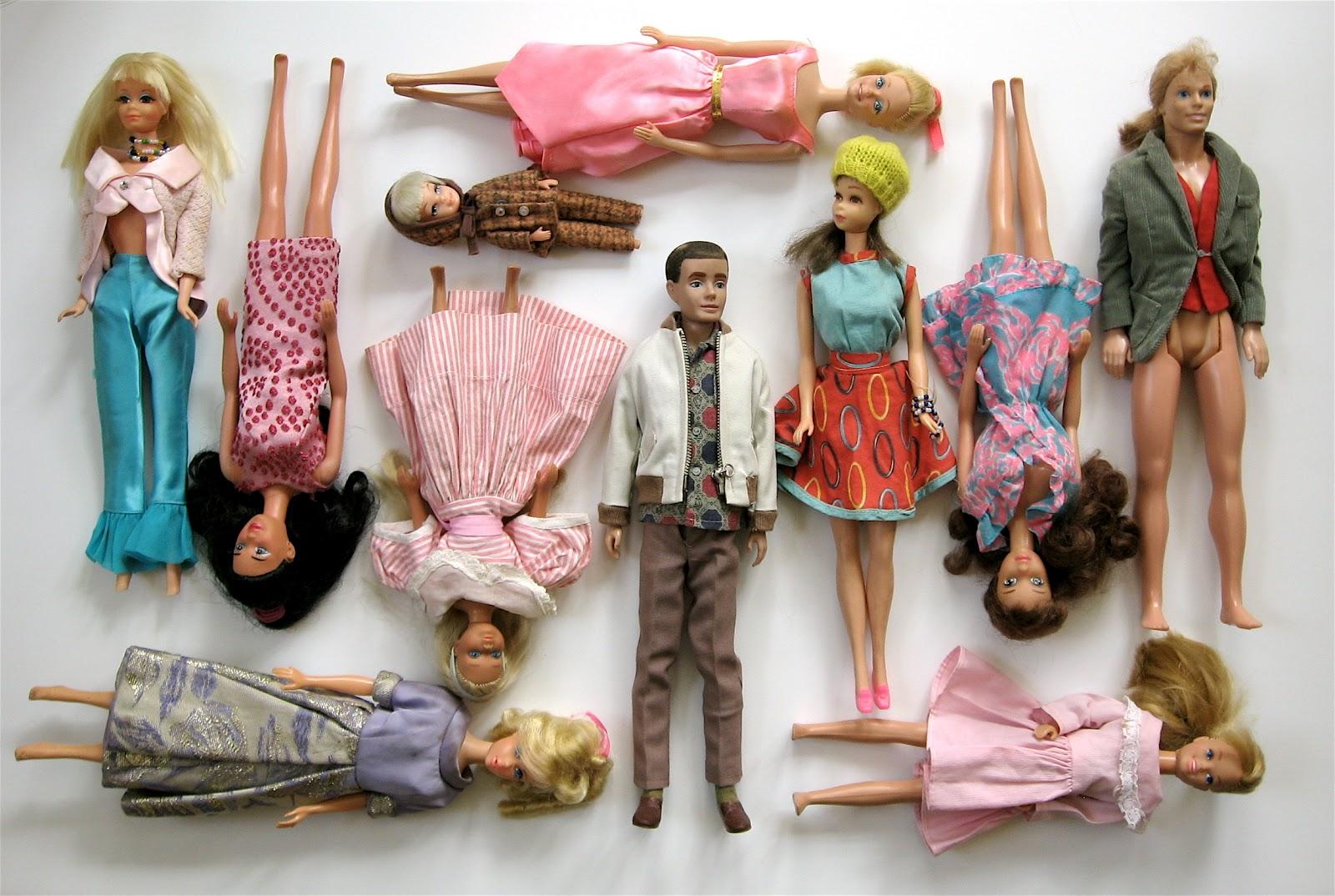 bricolagelife: barbie & friends