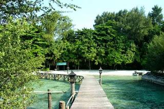 Indahnya Pulau Kotok Tengah Laksana di Pulau Pribadi