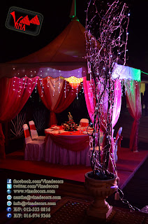 Garden Wedding Dinner at Taman Tasik Titiwangsa by Vina Canopy & Decor