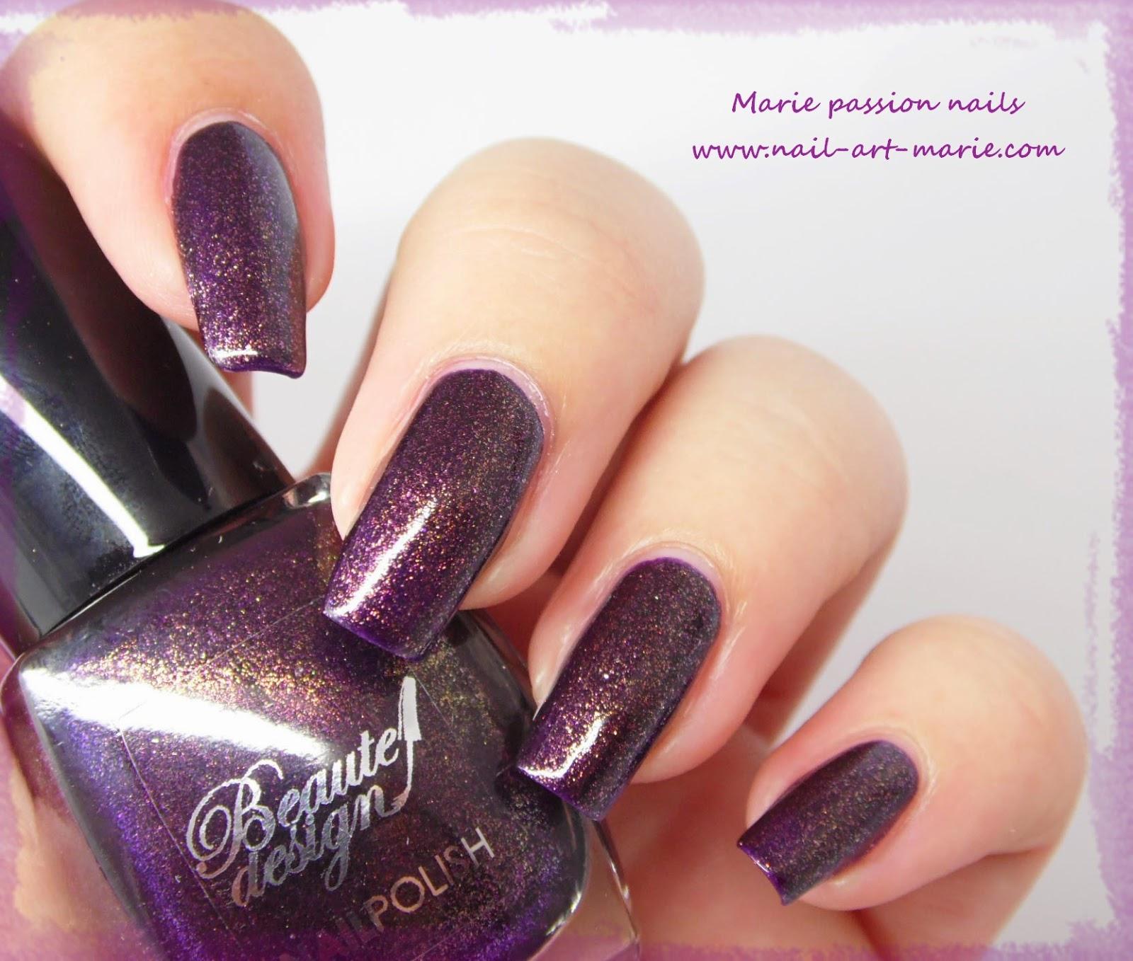 Beautedesign Violet Métallisé9