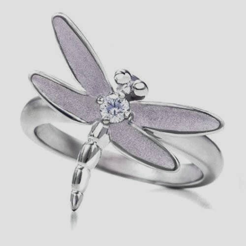 Attractive and Beautiful Dragonfly Engagement Ring, Jewelry for Every Style