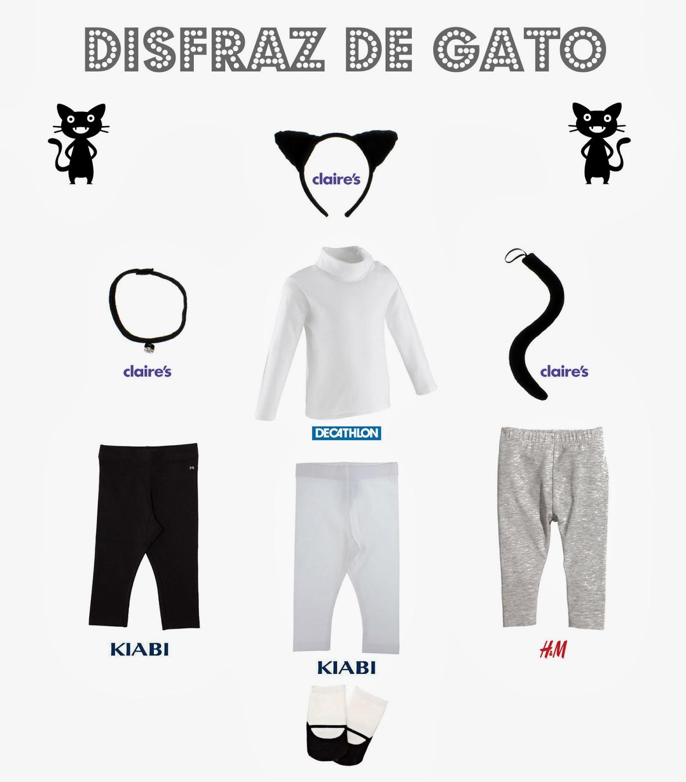 Disfraz gato bebe