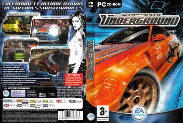 تحميل لعبة Need For Speed Underground