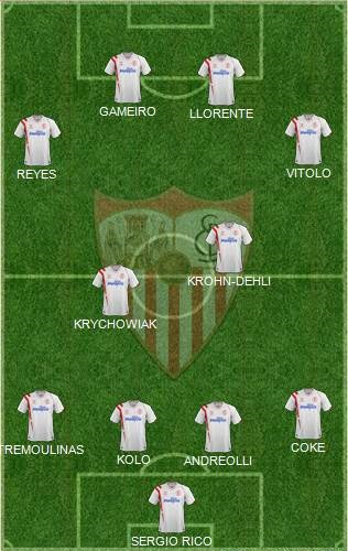 once inicial sevilla fc