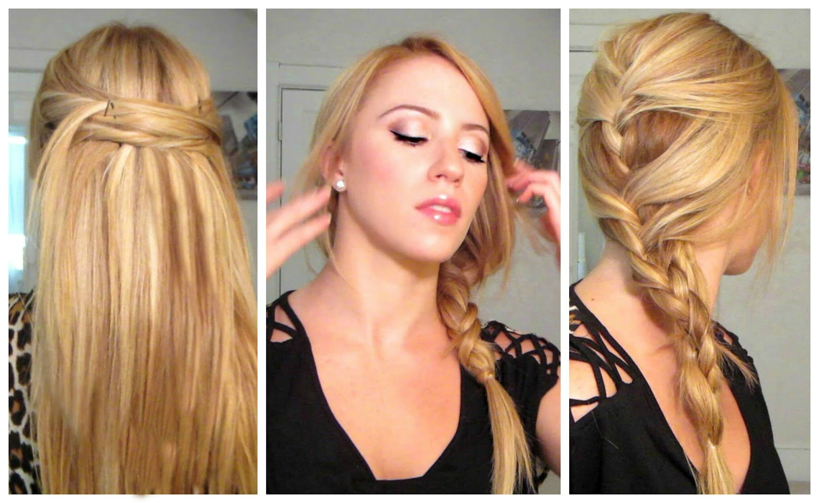 Easy, Quick, & Heat-less Hairstyles!