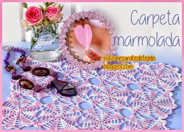 Carpeta marmolada