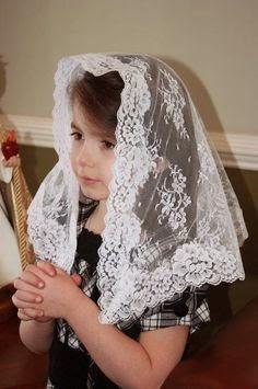 Usem SEMPRE o véu na Santa Missa