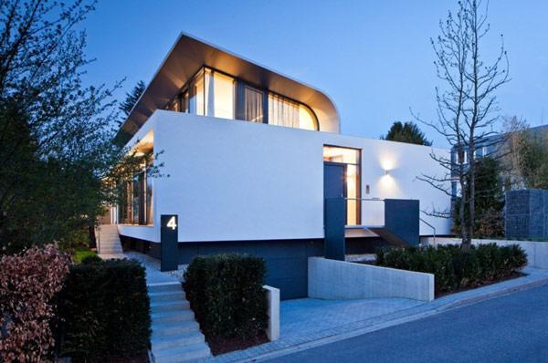 Hogares frescos arquitectura moderna c1 casa for Casa moderna arquitectura