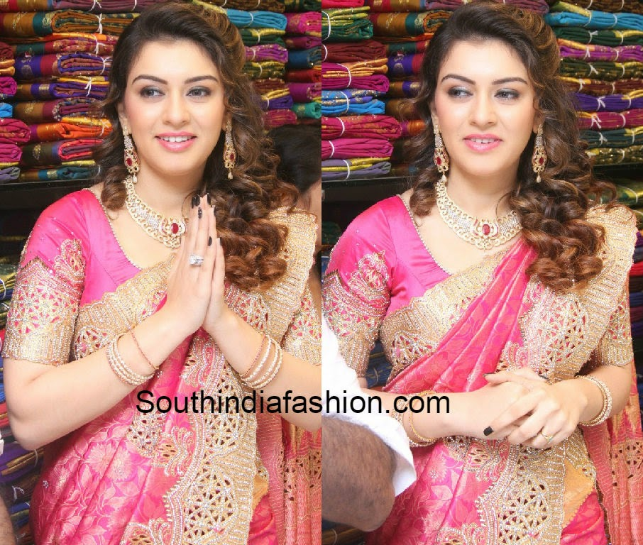 hansika at saravana store launch