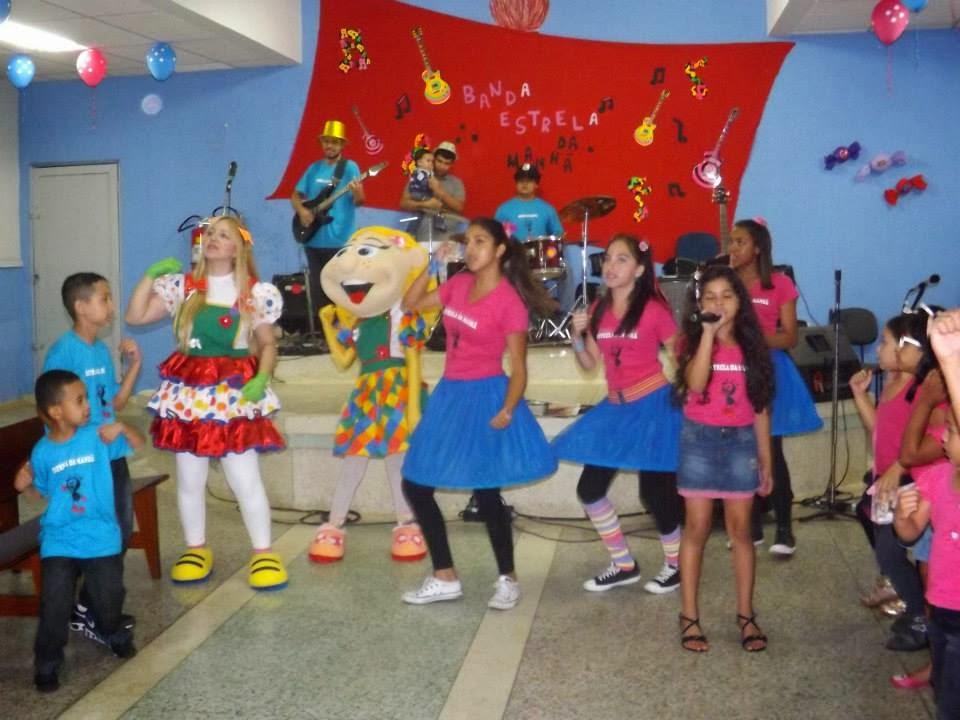 Cantando na AD Santa Maria Alta