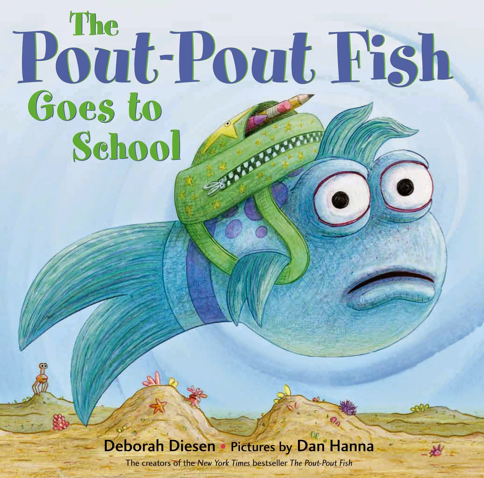 New!  The Pout-Pout Fish Goes To School!