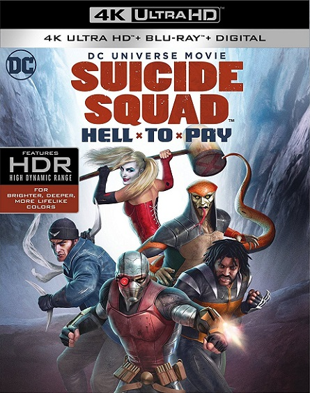 Suicide Squad: Hell to Pay 4K (Escuadrón Suicida: Deuda Infernal 4K) (2018) 2160p 4K UltraHD HDR BluRay REMUX 33GB mkv Dual Audio DTS-HD 5.1 ch