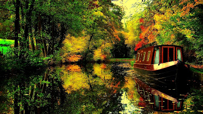HD Nature Wallpaper With Boat