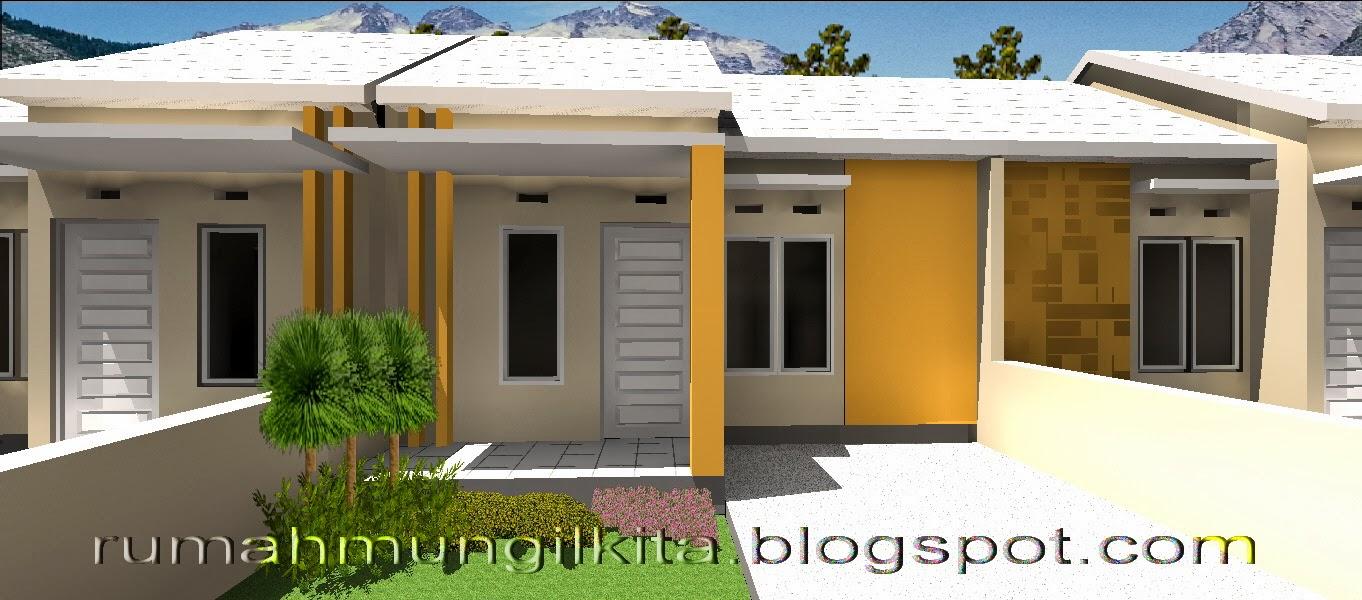 Rumah tipe 27 tanah 72 m2