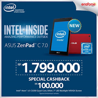Promo Asus ZenPad C 7.0 Z170CG (3G)