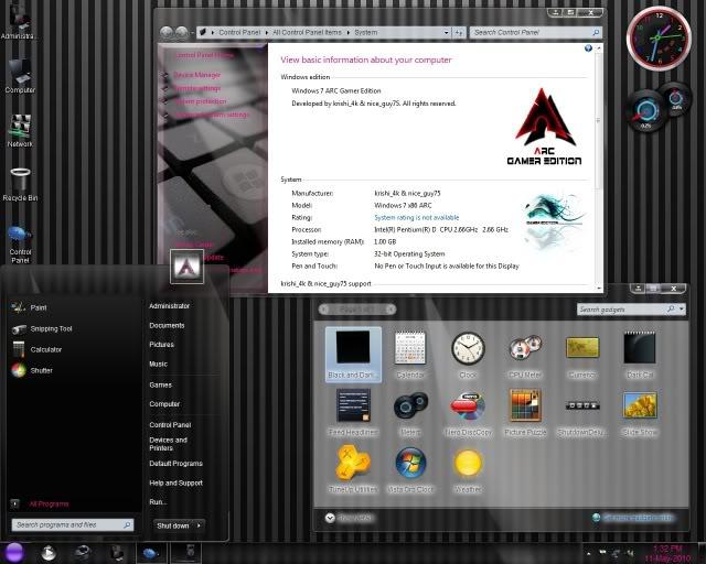 Windows 7 ARC Gamer Edition X86 ~ Computer-Blog000