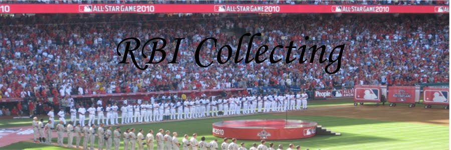 RBI Collecting - RJ's Baseball Item Collecting