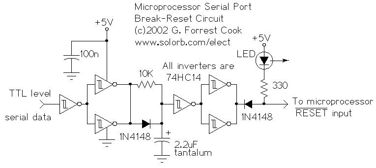 rs 232 reset for microprocessor wiring diagram schematic wiring diagram wii circuit sony