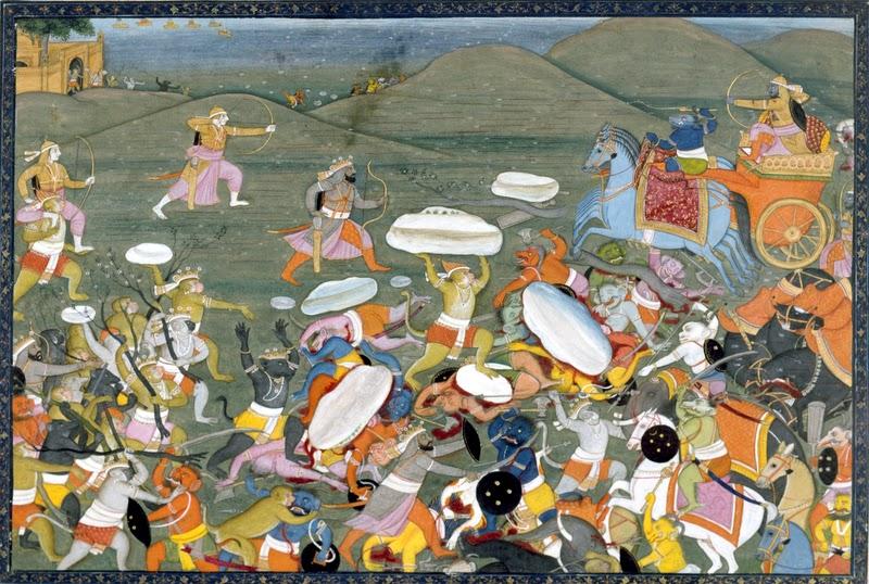 rama and ravana in battle pdf