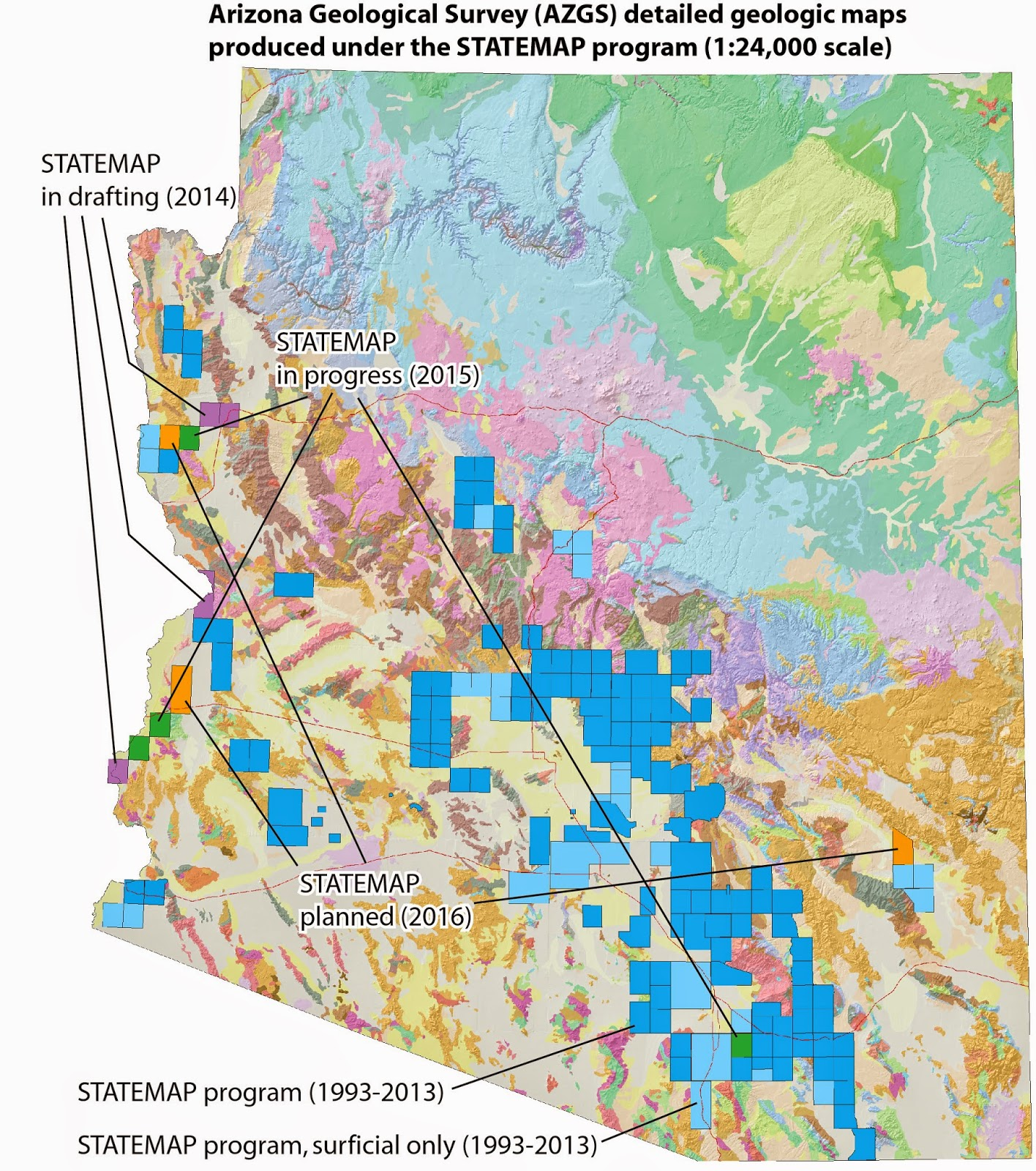 Arizona Geology April 2015