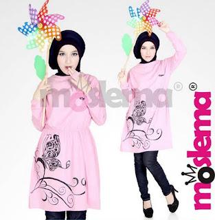 Model Baju Muslim Kaos Lebaran untuk Remaja