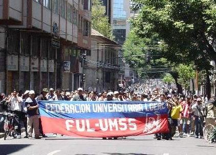 """UMSS: Acción de nuevo consejo ahonda división en la """"U"""" - UniBolivia"""