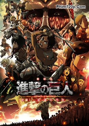 Attack On Titan Crimson Bow And Arrow 2014 poster