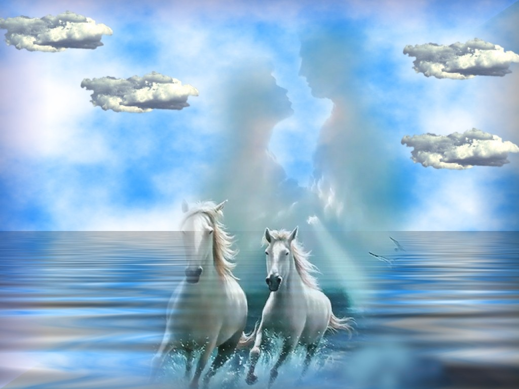 Fantasy Pictures Of Horses