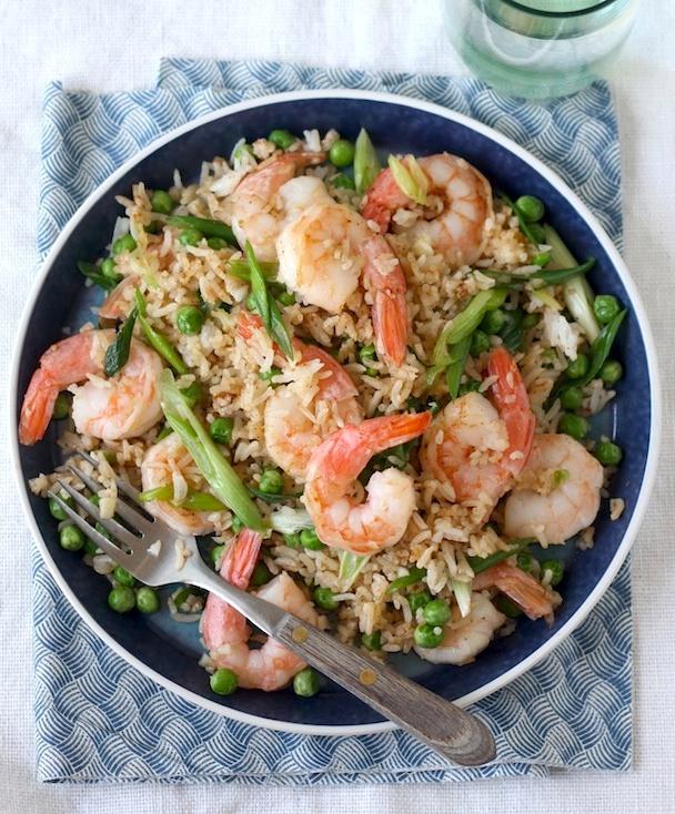 Sichuan Shrimp Fried Rice recipe by SeasonWithSpice.com