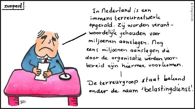 Zomperd - Terreurnetwerk Nederland opgerold