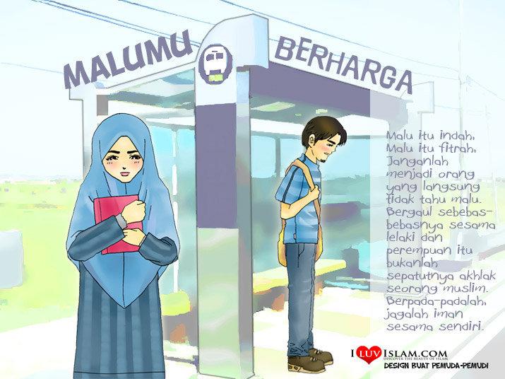 Gambar Anime Muslimah Jomblo Catatan Ikhwan Perbedaan Ta Aruf Pacaran