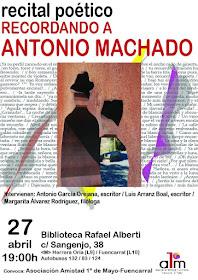 Recital poético: Recordando a Antonio Machado
