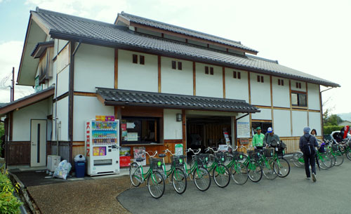 Bicycle Hire, Asuka Station, Nara Prefecture.